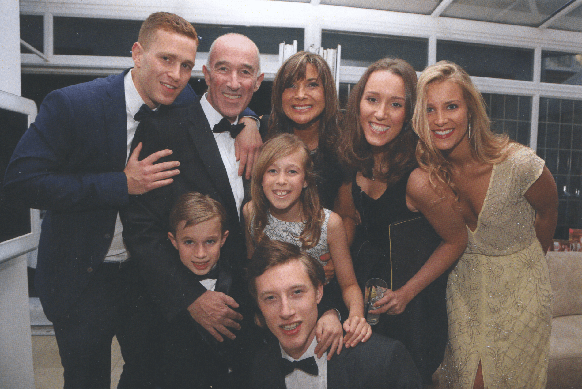Claire Buck and Family