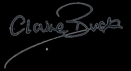 Claire Buck Signature