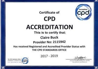 Accredited Provider Status
